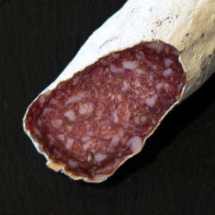 Stettler-Salami angeschnitten