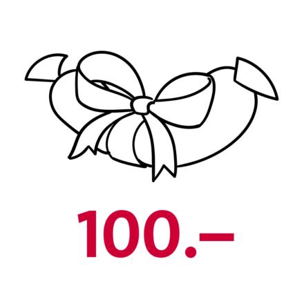 Gutschein Wert CHF 100.–