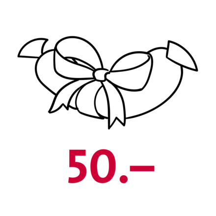 Gutschein Wert CHF 50.–