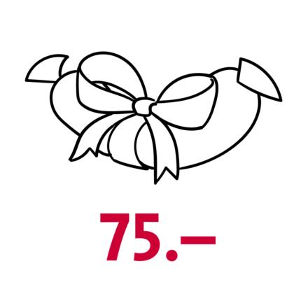 Gutschein Wert CHF 75.–